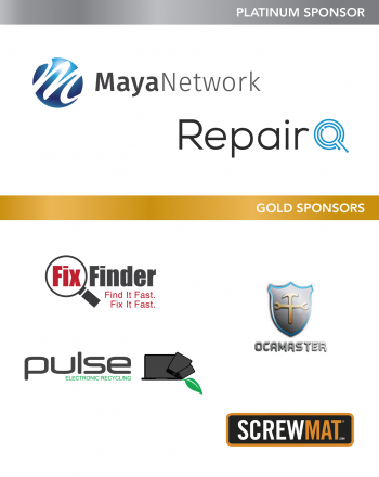 Wireless Repair EXPO 2016 Level Sponsors