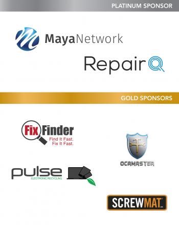 Wireless Repair EXPO 2016 Level Sponsors